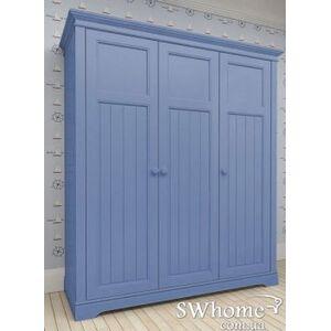 Шкаф 3х створчатый Канон NEW DREAMS Синий