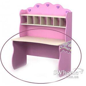 Письменый стол Бриз Pink Pn-08-1 Розовый