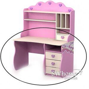 Письменый стол Бриз Pink Pn-08-2 Розовый