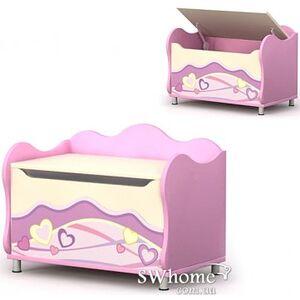 Комод для игрушек Бриз Pink Pn-22 Розовый