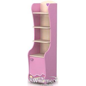 Книжный шкаф Бриз Pink Pn-05 Розовый