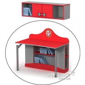 Письменный стол Бриз Driver Dr-08-2 Красный