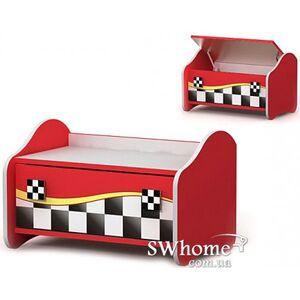 Комод для игрушек Бриз Driver Dr-22 Красный