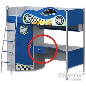 Выдвижной ящик к столу Dr-16-2 Синий