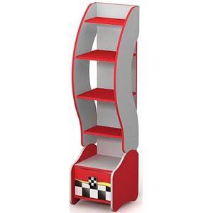 Книжный шкаф Бриз Driver Dr-05 Красный