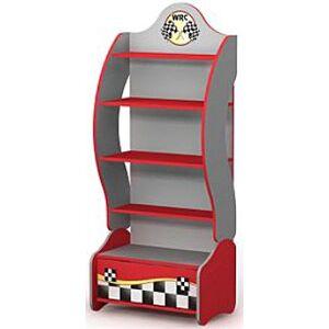 Книжный шкаф Бриз Driver Dr-04 Красный
