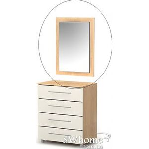 Зеркало Бриз Mega М-07 Дуб светлый