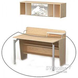 Письменный стол Бриз Mega М-08-2 Дуб светлый