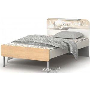 Кровать Бриз Mega М-11-9 Дуб светлый