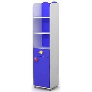 Книжный шкаф Бриз Ocean Od-05-1 Синий