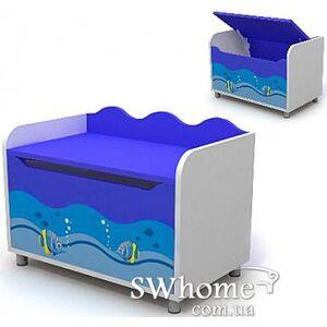 Комод для игрушек Бриз Ocean Оd-22 Синий