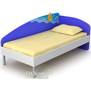 Кровать Бриз Ocean Od-11-10 Синяя