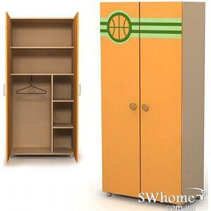 Шкаф Бриз Active Bs-02 -3 Оранжевый