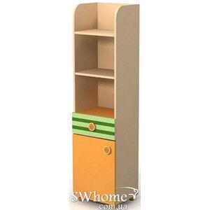 Книжный шкаф Бриз Active Bs-05-1 Оранжевый