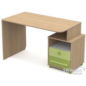 Письменный стол Бриз Акварели Кв - 08-1 Бирюзовый