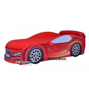 Кровать машина MebelKon Audi Красная
