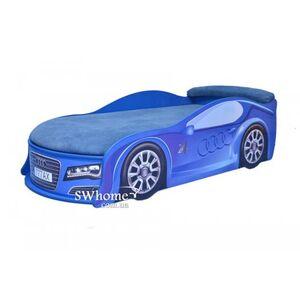 Кровать машина MebelKon Audi Синяя