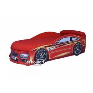 Кровать машина MebelKon Bmw Красная