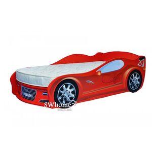 Кровать машина MebelKon Jaguar Красная