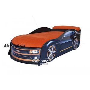 Кровать машина MebelKon Camaro Черная