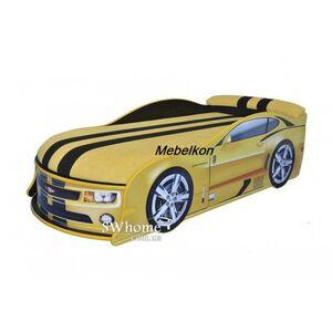 Кровать машина MebelKon Camaro Желтая