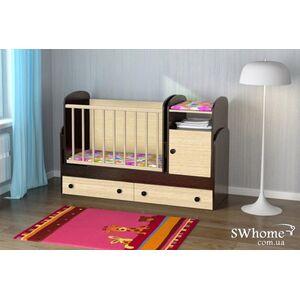 Детская кроватка-трансформер Oris Marica Комбинированная