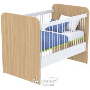 Детская кроватка Бриз Акварели Кв -  50 Зеленый