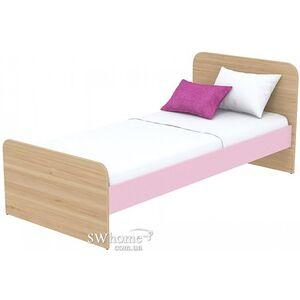 Кровать Бриз Акварели Кв - 11-9 Розовая