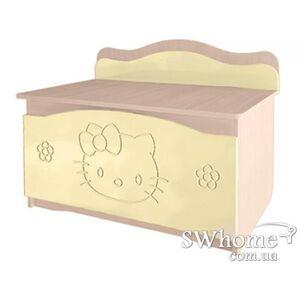 Ящик для игрушек Вальтер Kiddy Венге светлый - ваниль