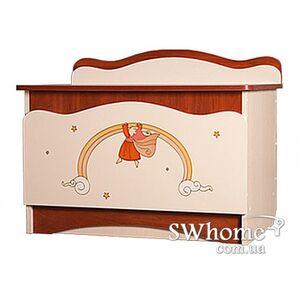 Ящик для игрушек Вальтер Феи в облаках Венге светлый