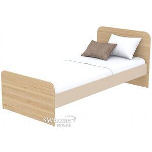 Кровать Бриз Акварели Кв - 11-9 Коричневая