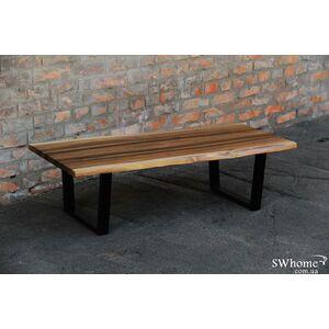Кофейный стол EcoWalnut с живыми краями Сосна
