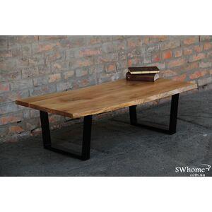 Кофейный стол EcoWalnut с живыми краями Дуб