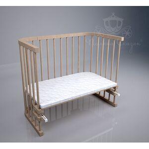 Приставная кроватка Поляна сказок Multi-bed Premium макси Шлифованная