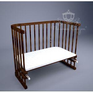 Приставная кроватка Поляна сказок Multi-bed Premium макси Коричневая