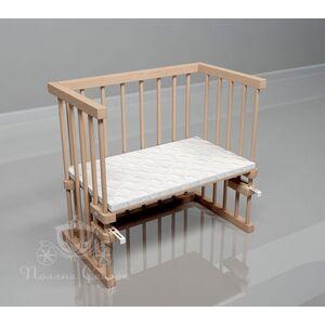 Приставная кроватка Поляна сказок Multi-bed Classic стандарт Шлифованная