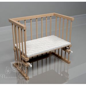 Приставная кроватка Поляна сказок Multi-bed Classic стандарт Лак