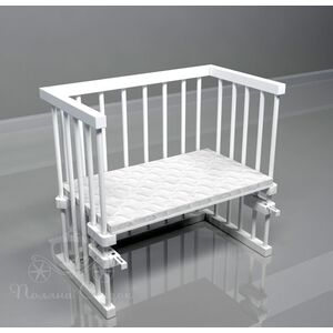 Приставная кроватка Поляна сказок Multi-bed Classic стандарт Белая