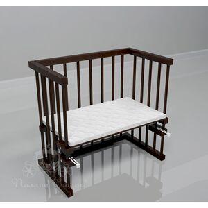 Приставная кроватка Поляна сказок Multi-bed Classic стандарт Коричневая