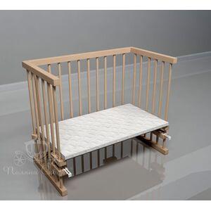 Приставная кроватка Поляна сказок Multi-bed Classic макси Шлифованная
