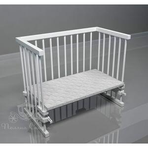 Приставная кроватка Поляна сказок Multi-bed Classic макси Белая