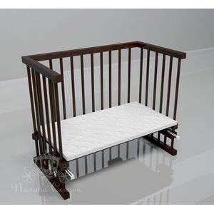 Приставная кроватка Поляна сказок Multi-bed Classic макси Коричневая