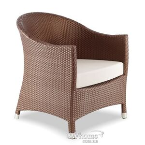Кресло из ротанга Pradex Парадиз Лаунж Коричневое