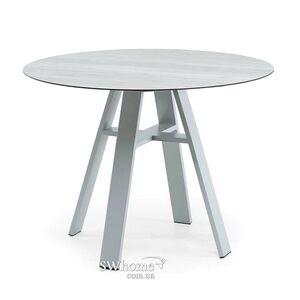 Стол Pradex Флэкс-М круглый Серый