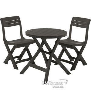 Комплект садовой мебели Keter Jazz set Серый