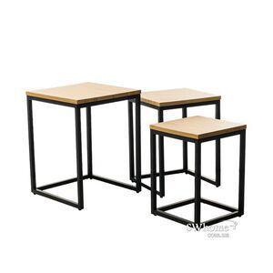 Комплект столов Vetro Mebel CS-10 Орех