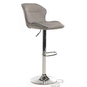 Барный стул Vetro Mebel B-70 Серый ткань
