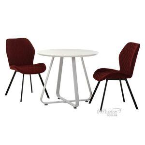 Раскладной обеденный стол Vetro Mebel TM-51-1 Белый