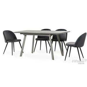 Стол раскладной обеденный Vetro Mebel TM-170 Серый