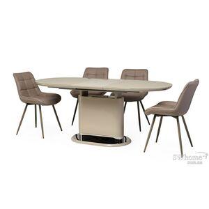 Стол раскладной обеденный Vetro Mebel TM-56 Капучино